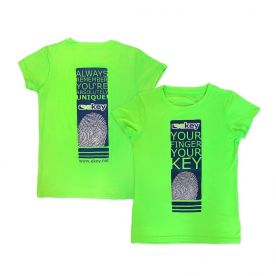 ekey Damen Laufshirt in Grün (Größe M)